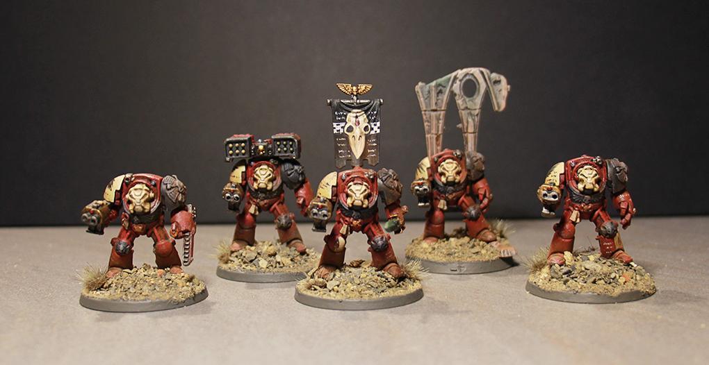 Blood Ravens, Space Marines, Terminator Armor, Warhammer 40,000
