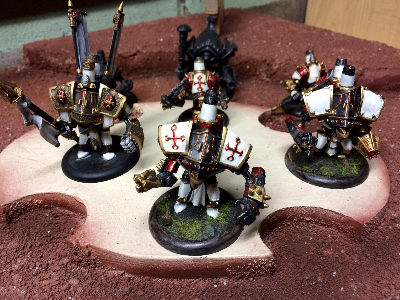 Painted Menoth Jacks