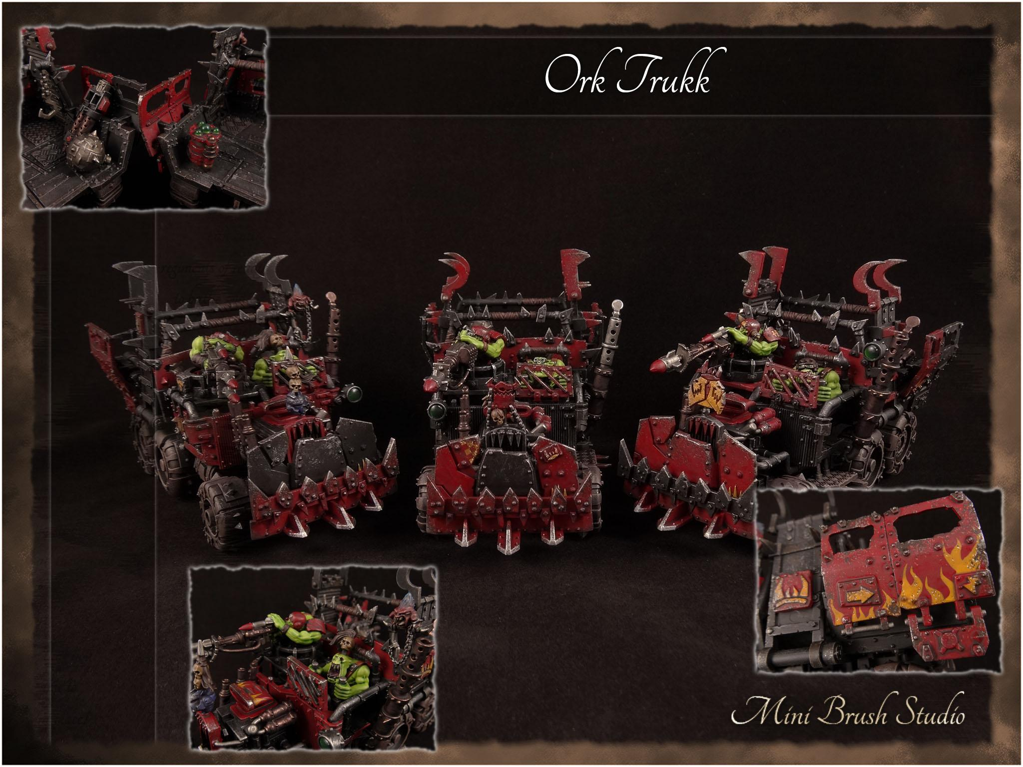 Commission, Orks, Red Goes Faster, Trukks