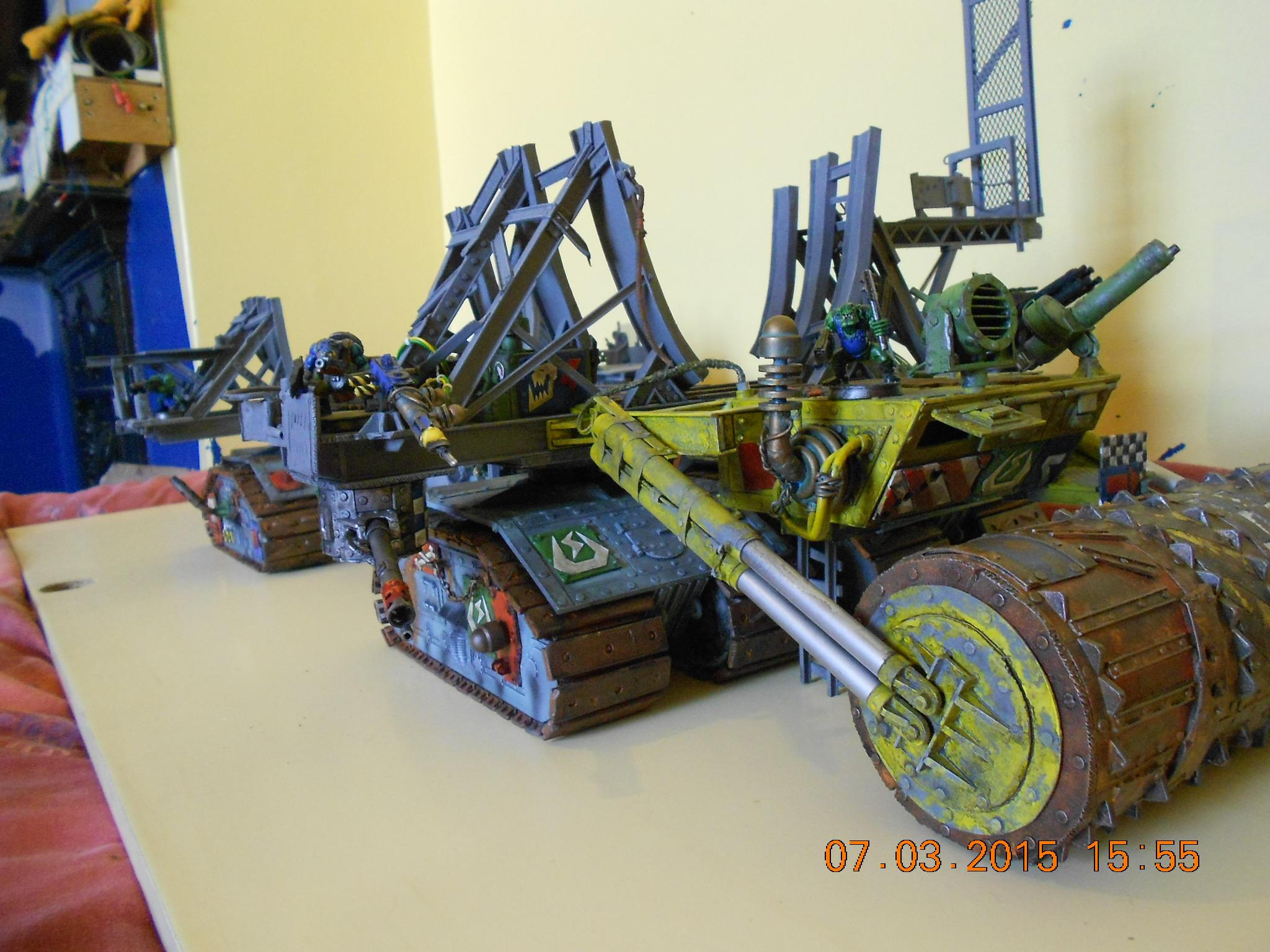 Cradle, Death Roller, Dreadnought, Track Unit, Warship