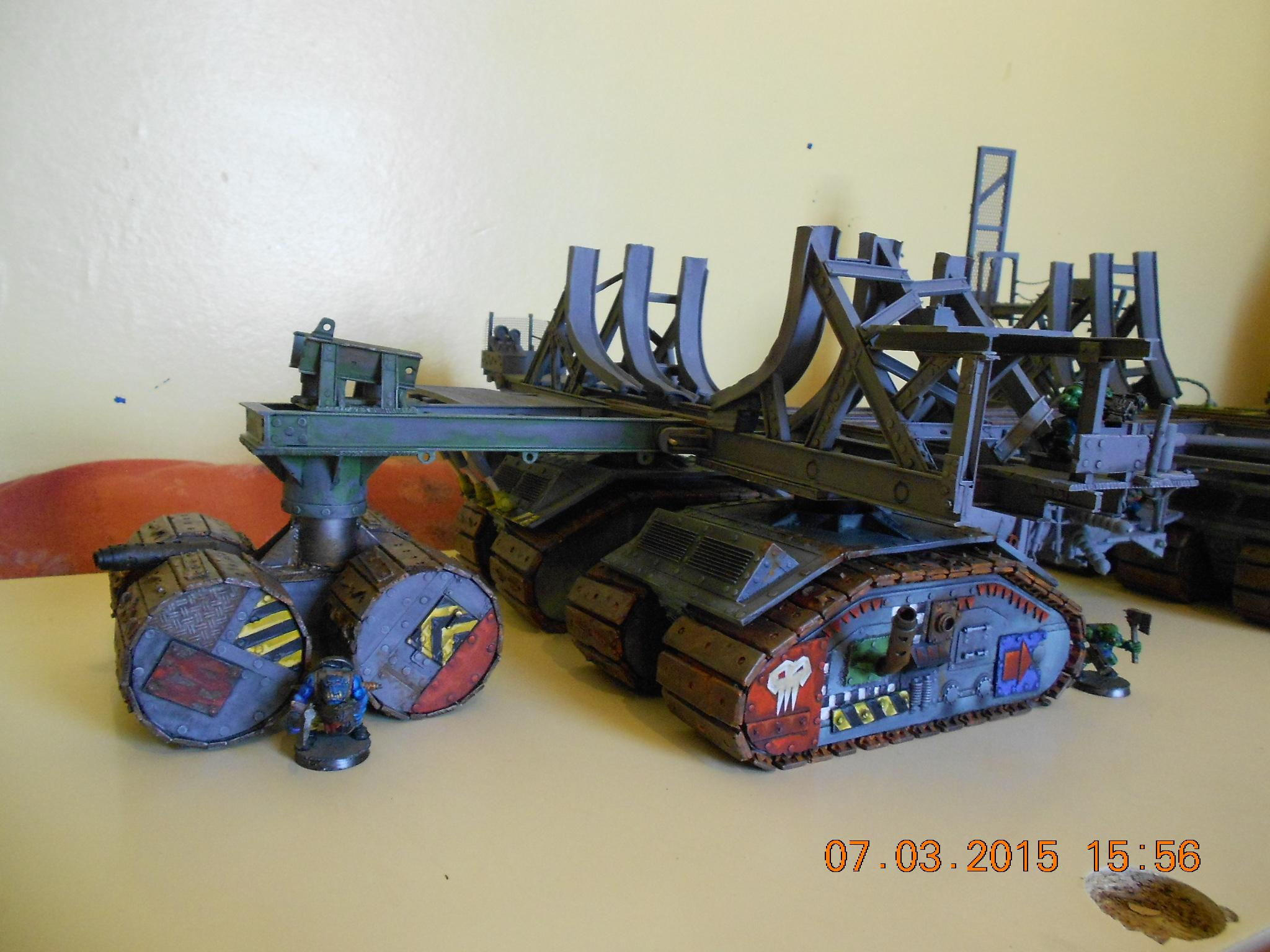 Cradle, Death Roller, Dreadnought, Track Unit, Warship