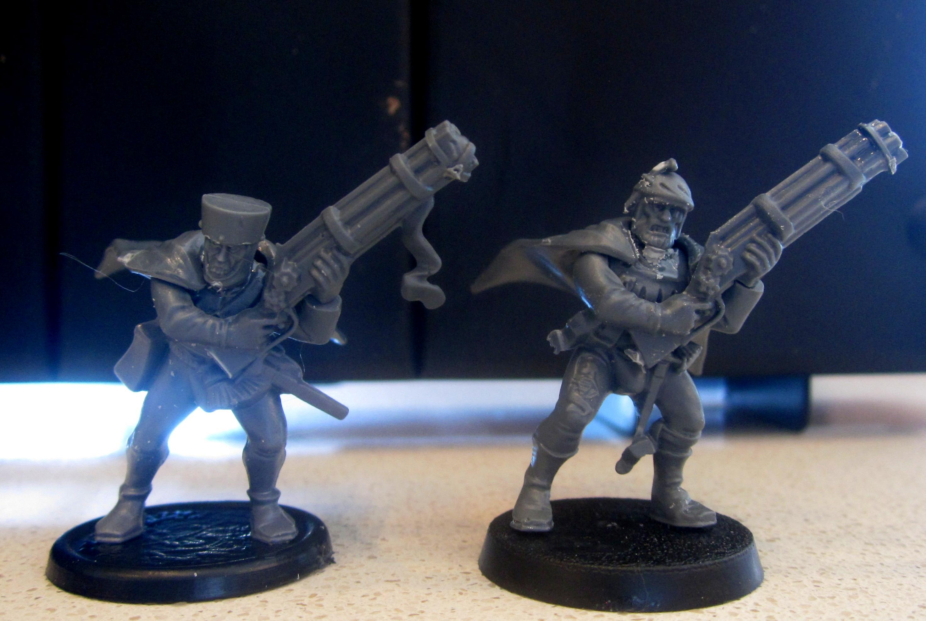 Henchmen, Inquisition, Outriders, Storm Bolters