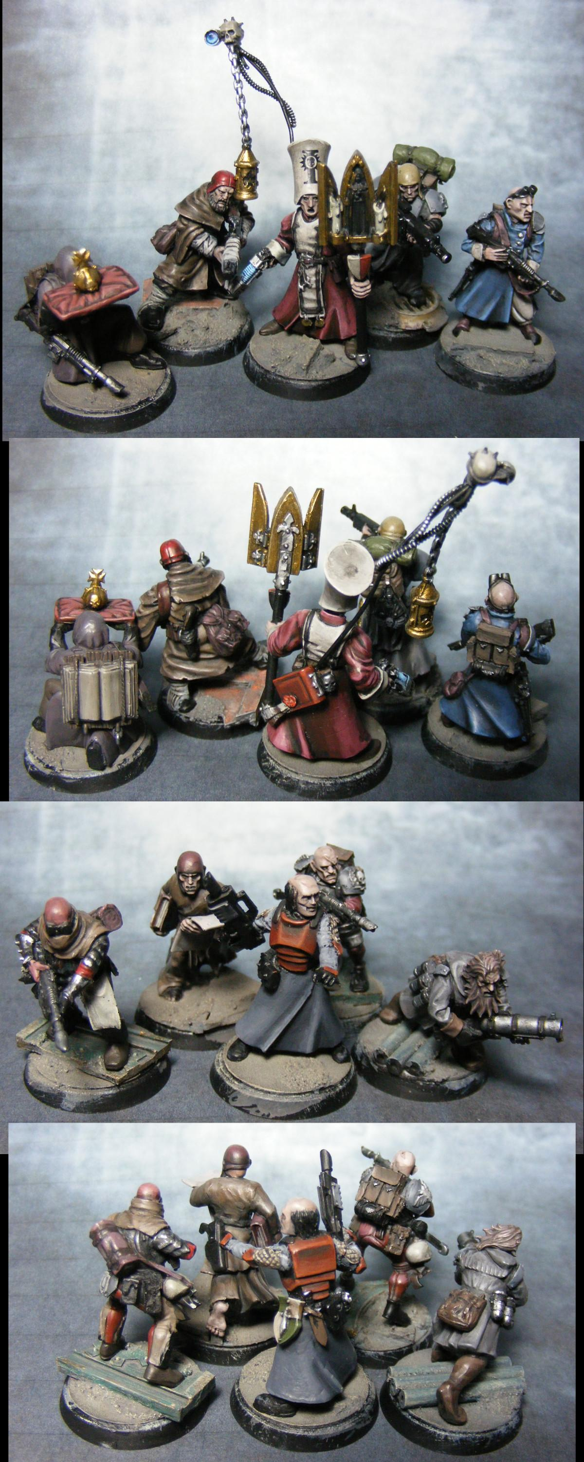 Conversion, Empire, Henchmen, Imperial Guard, Inquisition, Warhammer 40,000