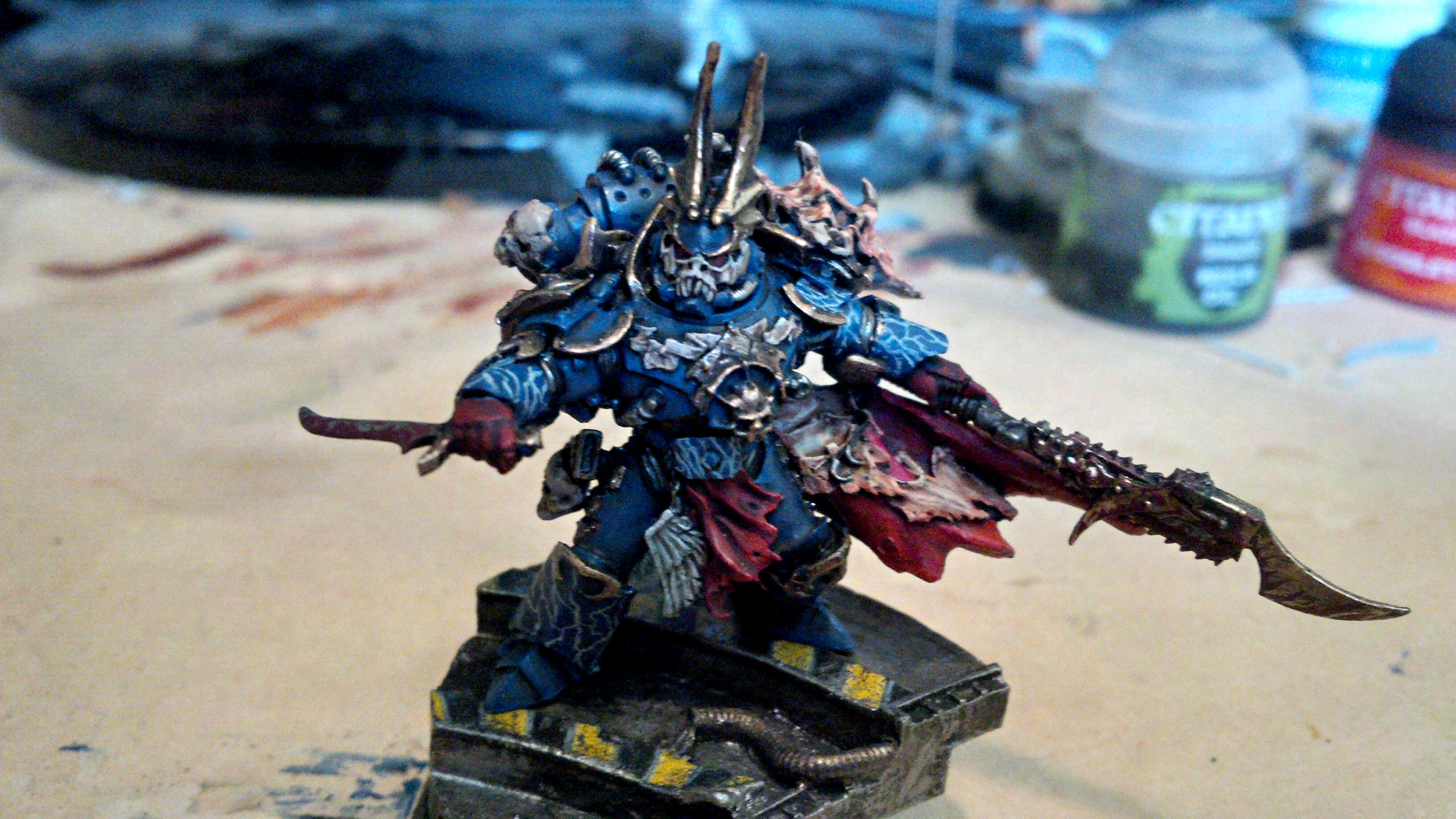 30k, Blue, Gold, Horus Heresy, Lightning, Night Lord, Sevetar, Skull, Updated