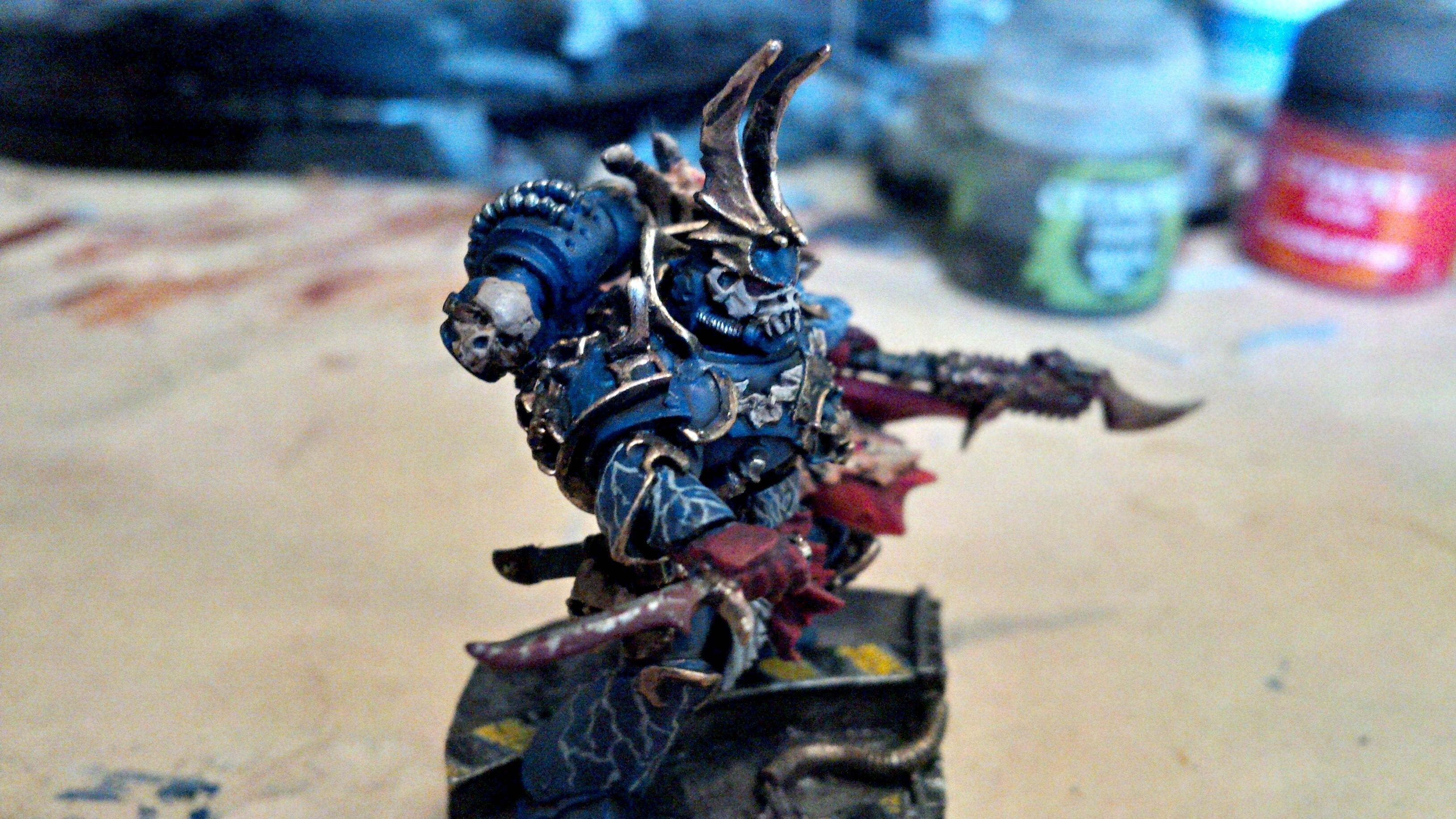 30k, Blue, Gold, Horus Heresy, Lightning, Night Lord, Sevetar, Skull, Updated