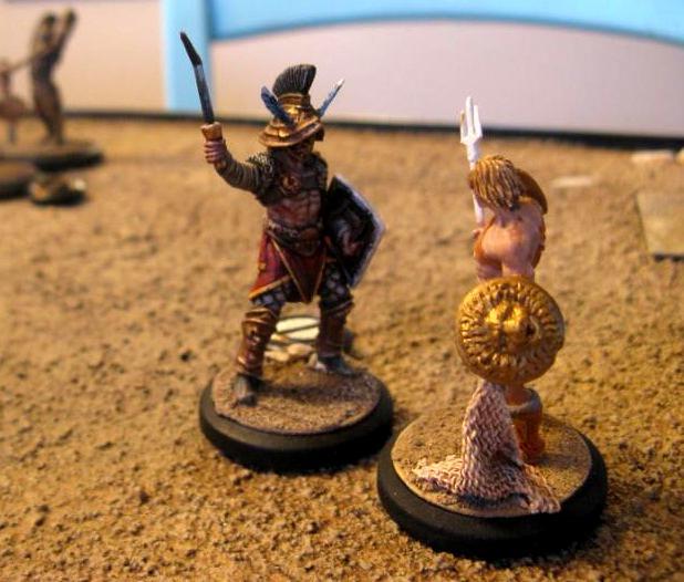 Arena Rex, Hermes, Marcus Furius, Red Republic Games