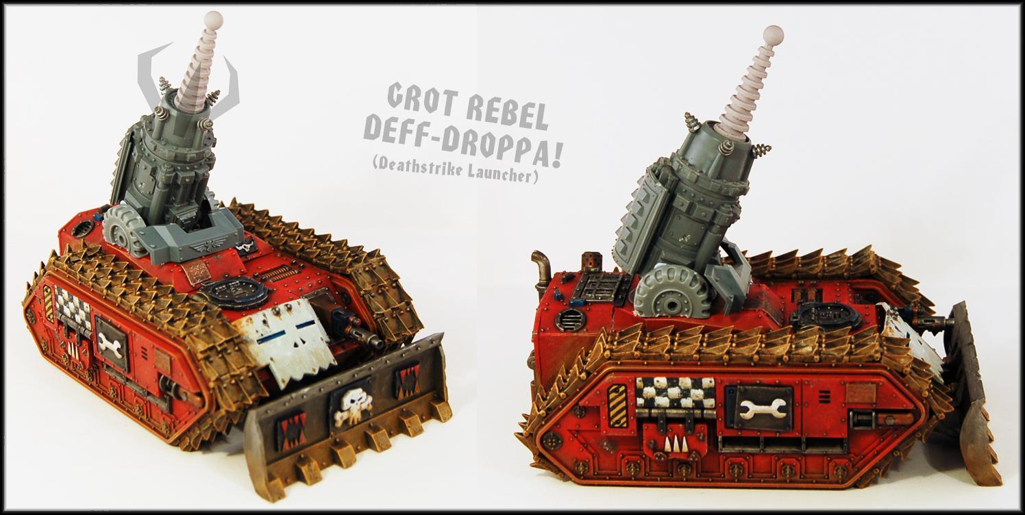 Basilisk, Deathstrike, Rebel Grot
