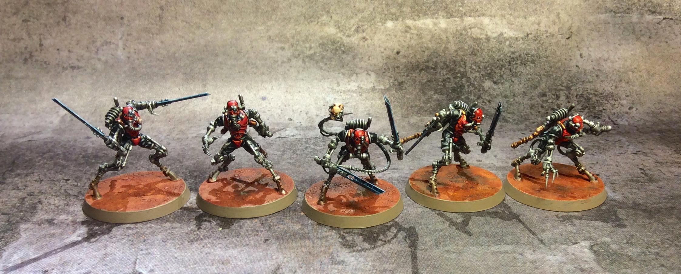 Adeptus Mechanicus, Riccardo Margarolo, Rustalker, Skitarii