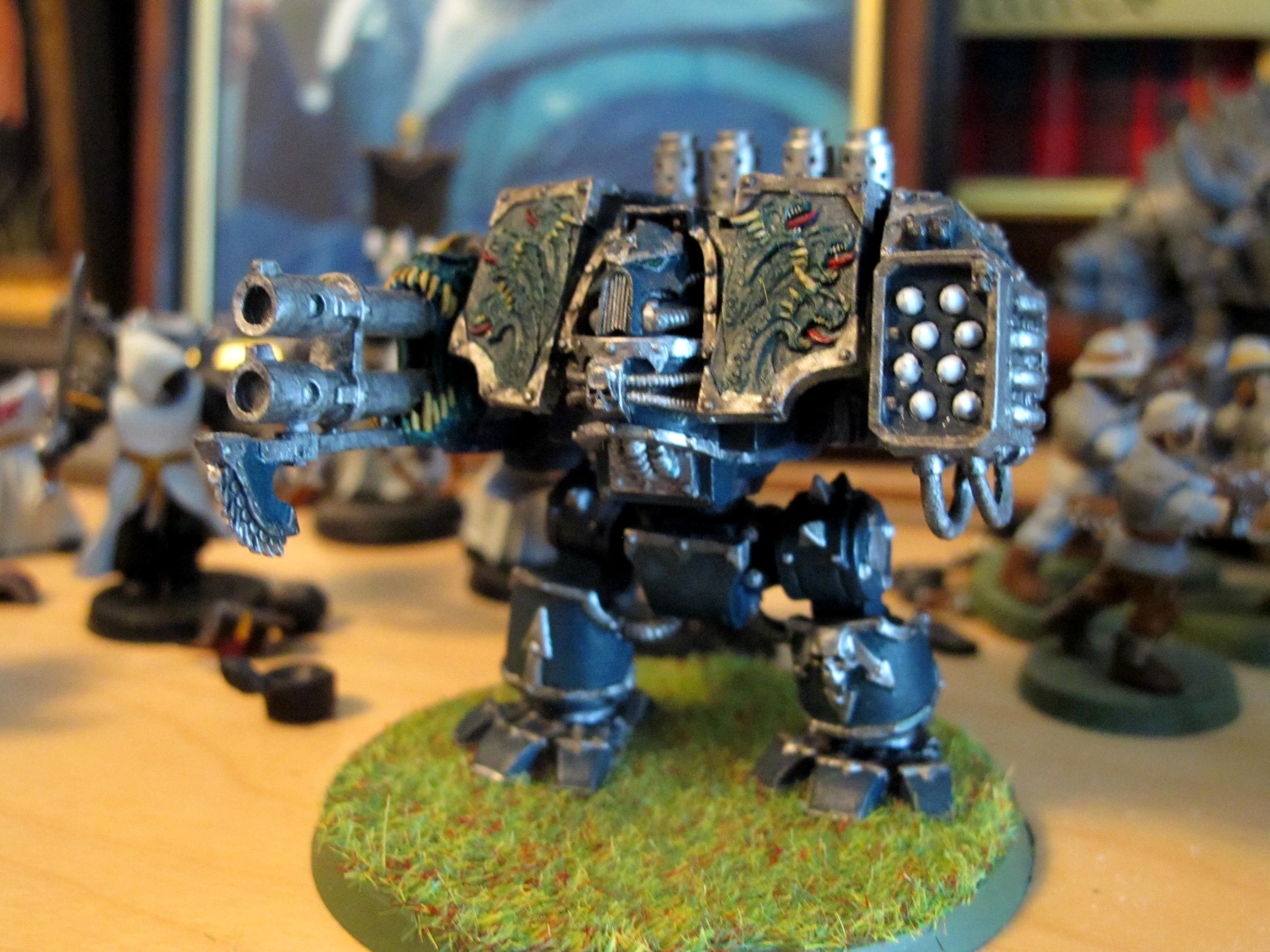 Chaos Space Marines, Dreadnought, Hellbrute