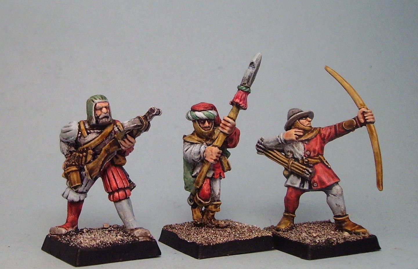 Archers, Bretonnians, Empire