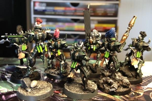 Dark, Eldar, Gamesworkshop, Kabalite, Warhammer 40,000, Warriors