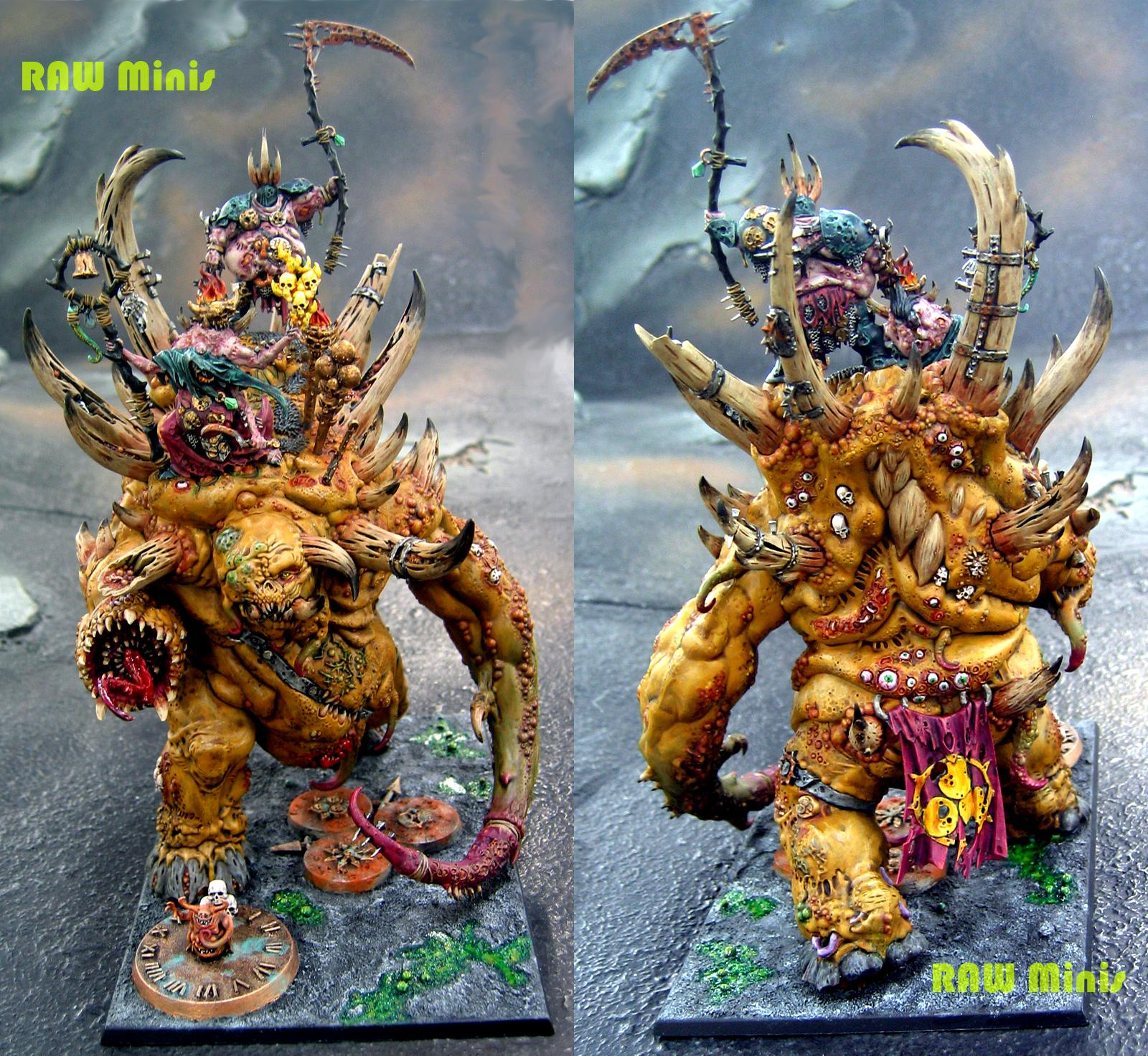 Champion, Chaos, End Times, Lord, Monster, Monstrous Creature, Nurgle, Warhammer Fantasy, Warriors Of Chaos, Wizard