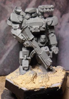 Heavy Gear, Hunter Gear, Front