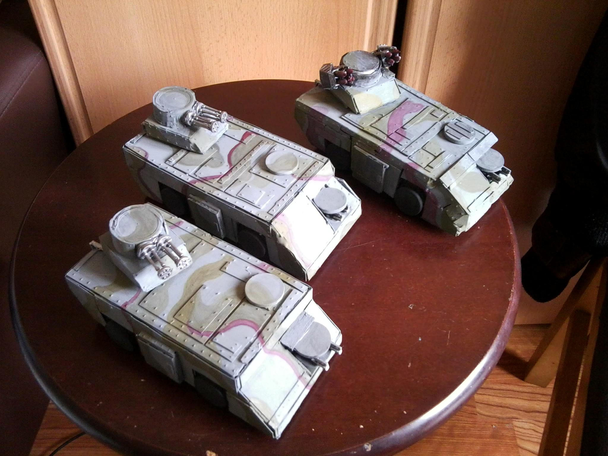 Aliens, Apc, Commission, Imperial Guard, Painted, Scions, Scratch, Scratch Build, Solar Auxilia, Warhammer 40,000