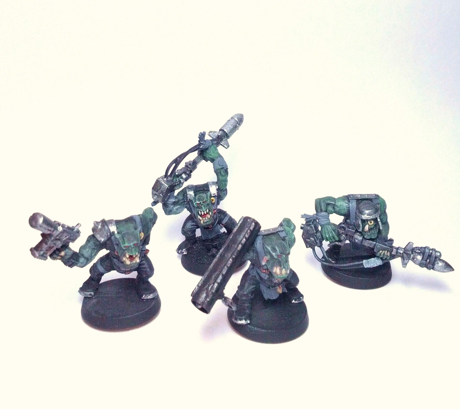 Conversion, Orks, Tankbustas, Work In Progress