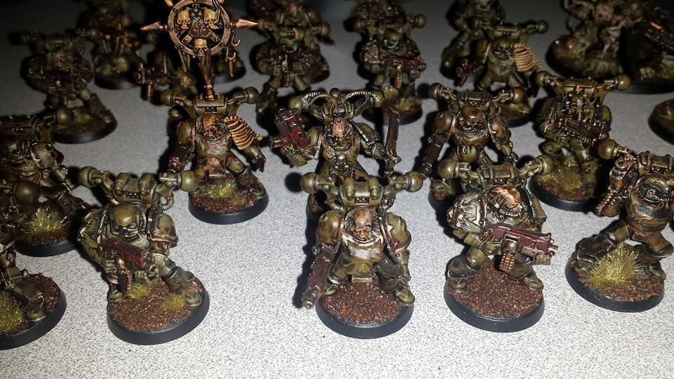 Chaos, Chaos Space Marines, Death Guard, Death Guard Sorcerer, Nurgle, Nurgle Chaos Space Marines, Nurgle Sorcerer, Plague Marines, Typhus, Typhus Herald Of Nurgle, Typhus Host Of The Destroyer Hive