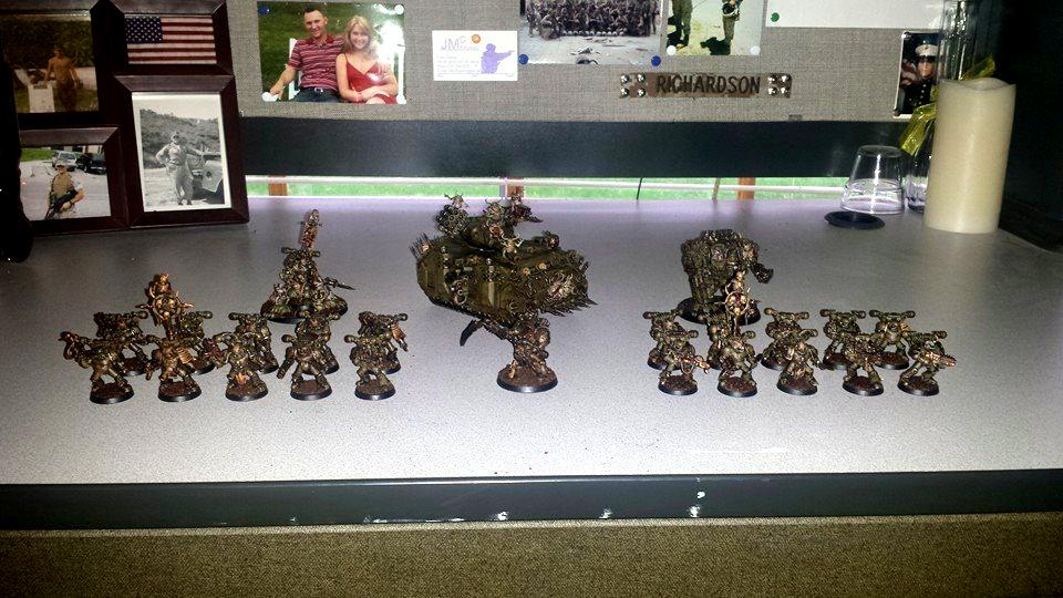Chaos, Chaos Predator, Chaos Space Marines, Death Guard, Death Guard Dreadnought, Death Guard Helbrute, Death Guard Predator, Death Guard Sorcerer, Greenstuff, Nurgle, Nurgle Chaos Space Marines, Nurgle Dreadnought, Nurgle Helbrute, Nurgle Predator, Nurgle Sorcerer, Plague Marines, Sorcerer, Typhus, Typhus Herald Of Nurgle, Typhus Host Of The Destroyer Hive