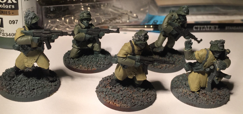 Bolt Action, German Infantry, Veteran Grenadiers, Warlord Games