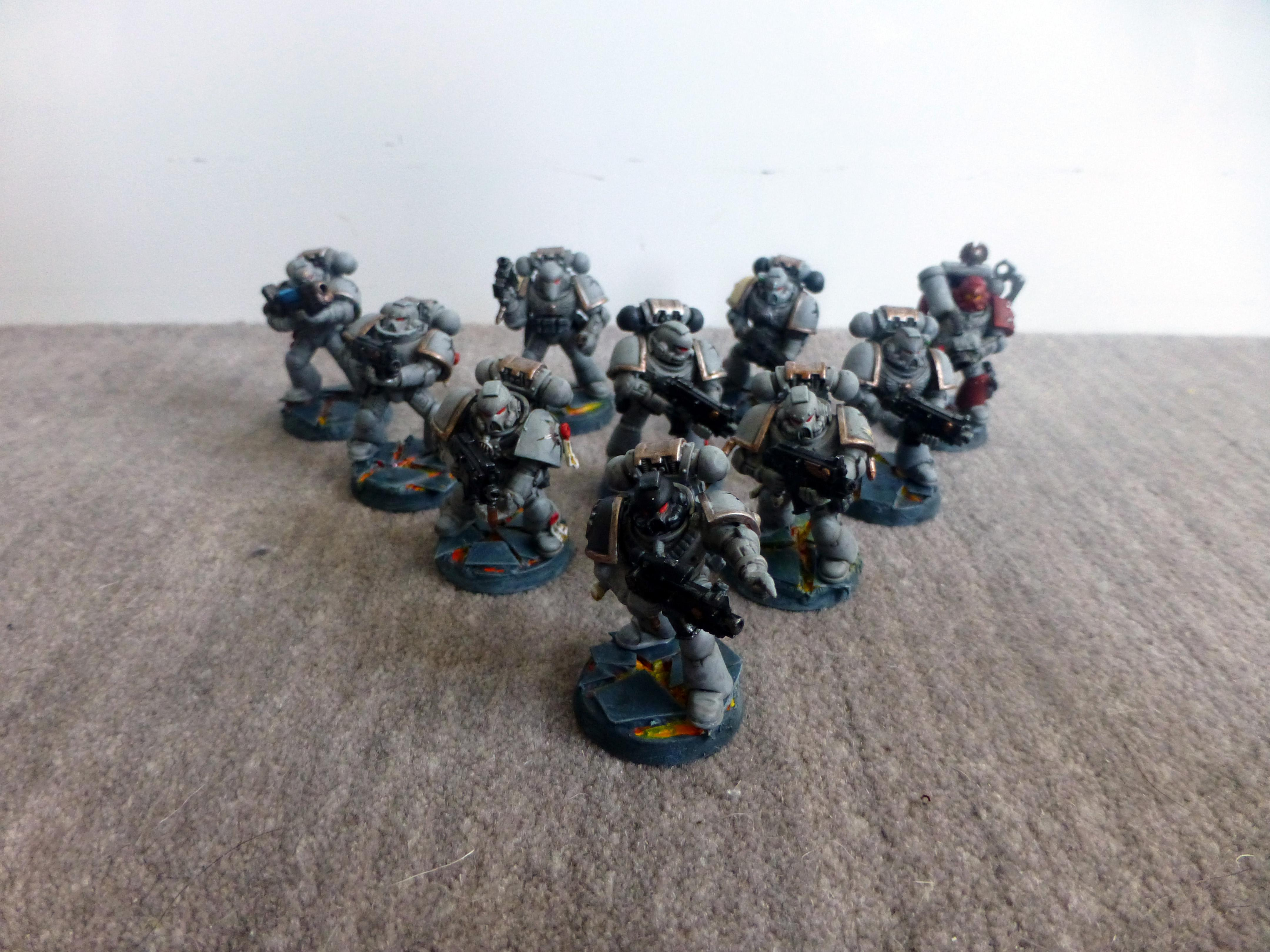 Chaos Space Marines, Loyalist, Word Bearers, Work In Progress