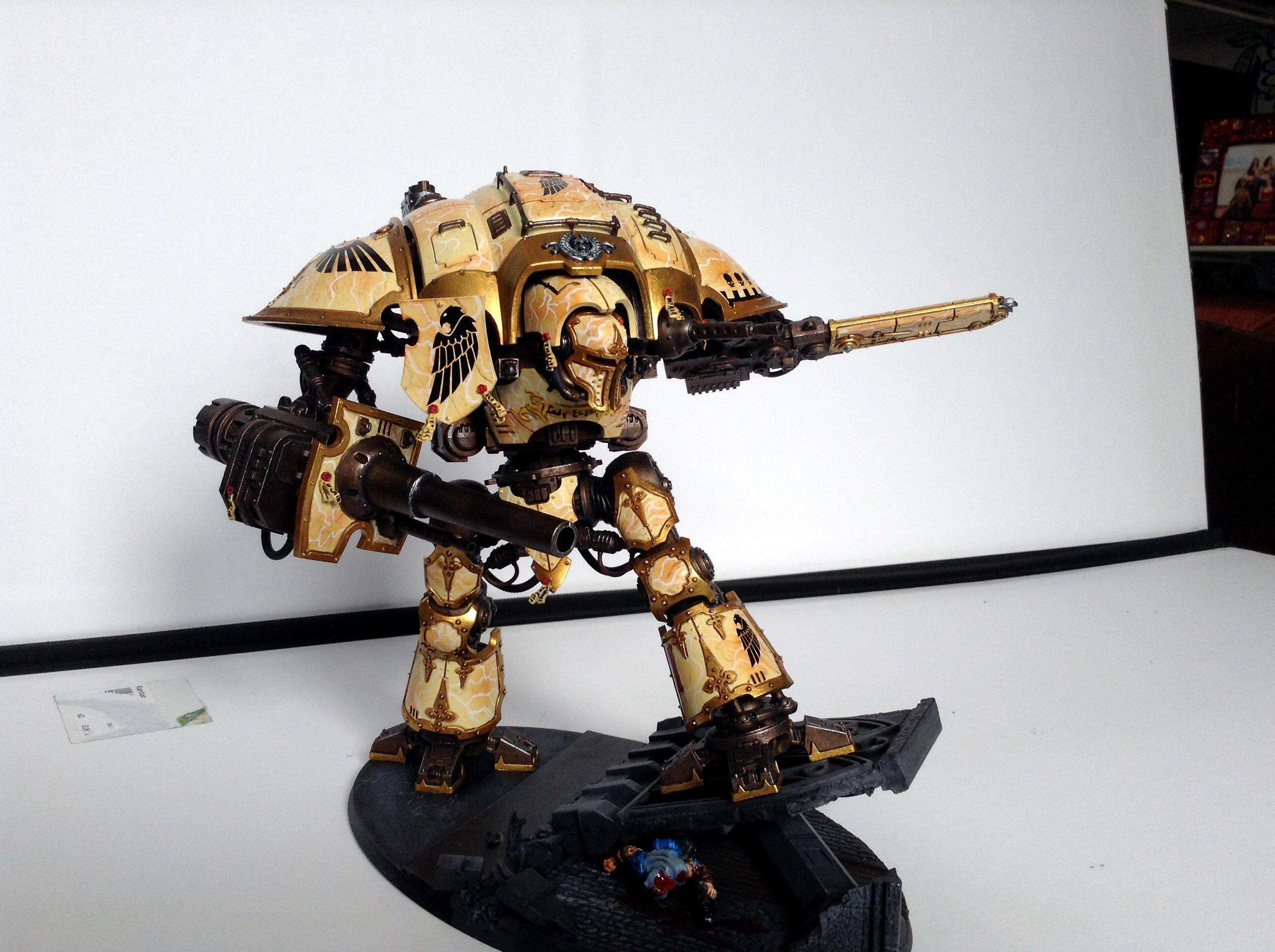 Errant, Games Workshop, Imperial, Imperium, Knights, Marble, Paladin, Titan