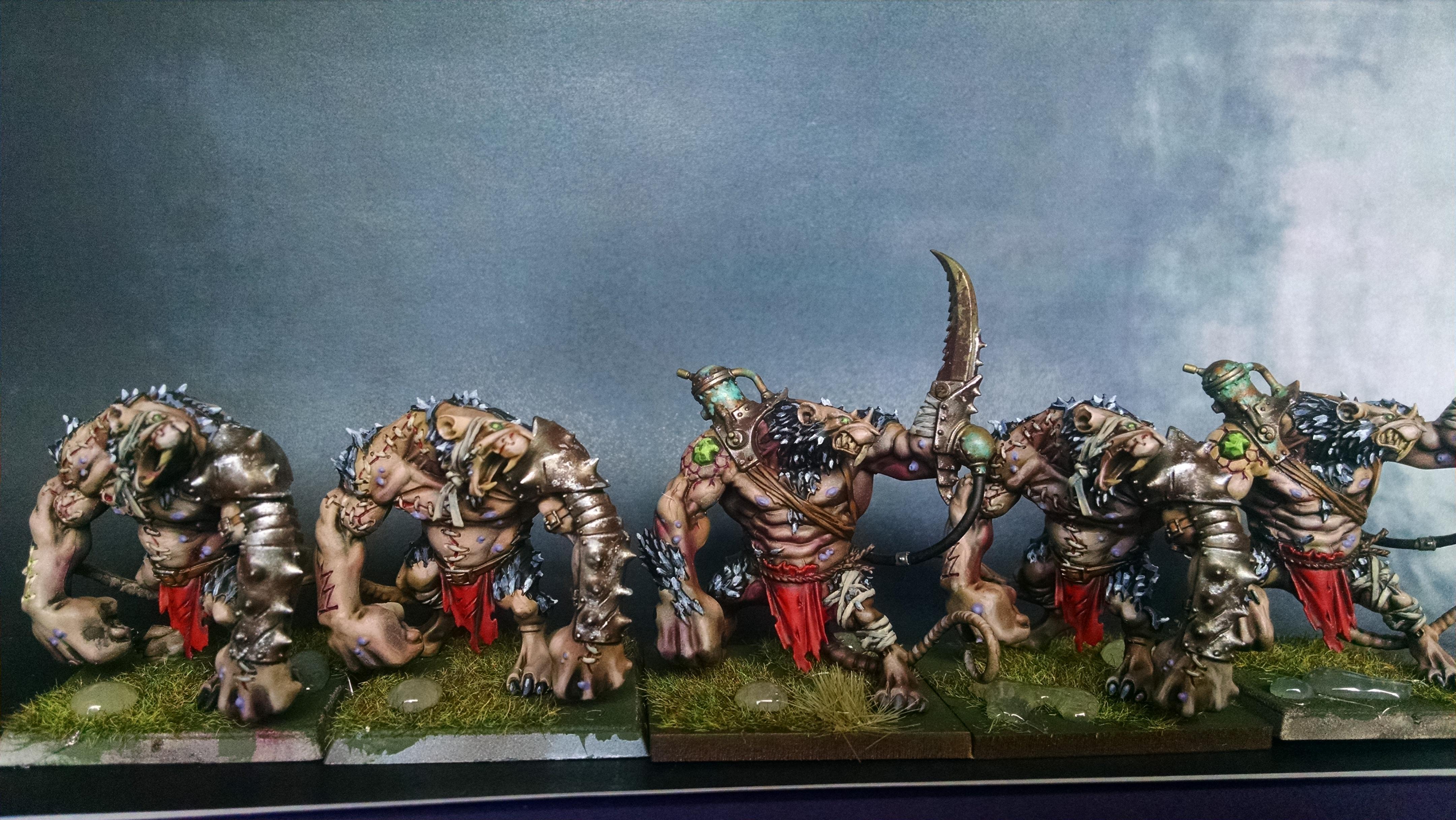 Ogres, Rat, Skaven, Warhammer Fantasy