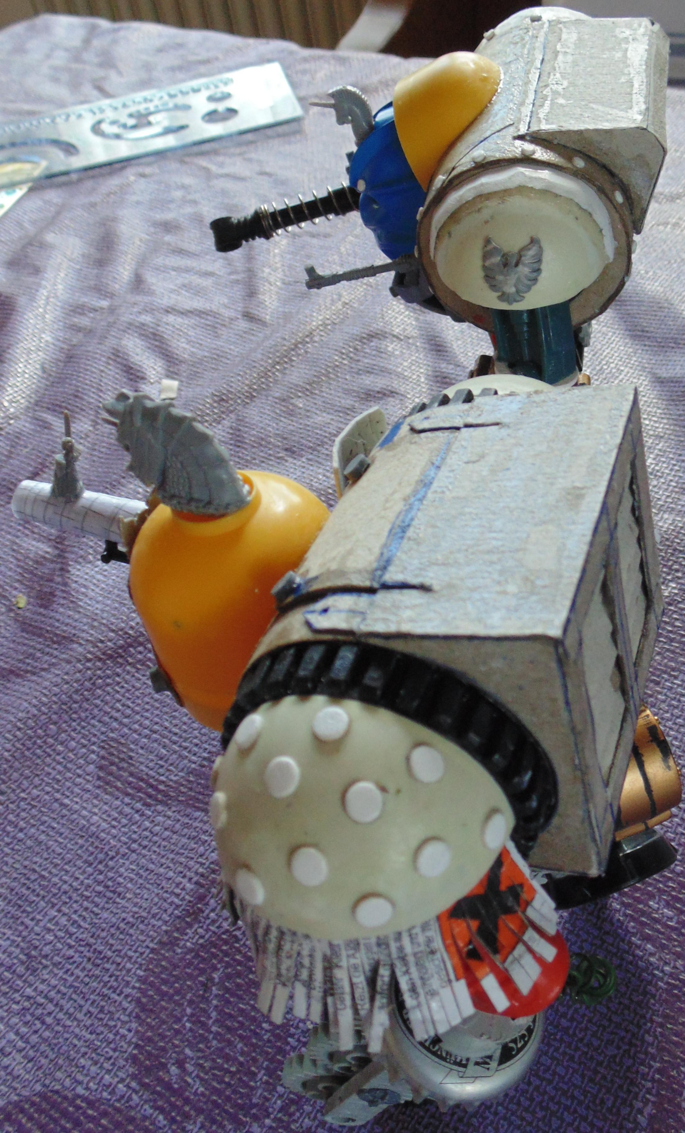 Conversion, Garbage, Garbage Garden Gnome, Garden, Ggg, Gnomes, Imperial, Knights, Mechanicus, Scratch Build, Titan