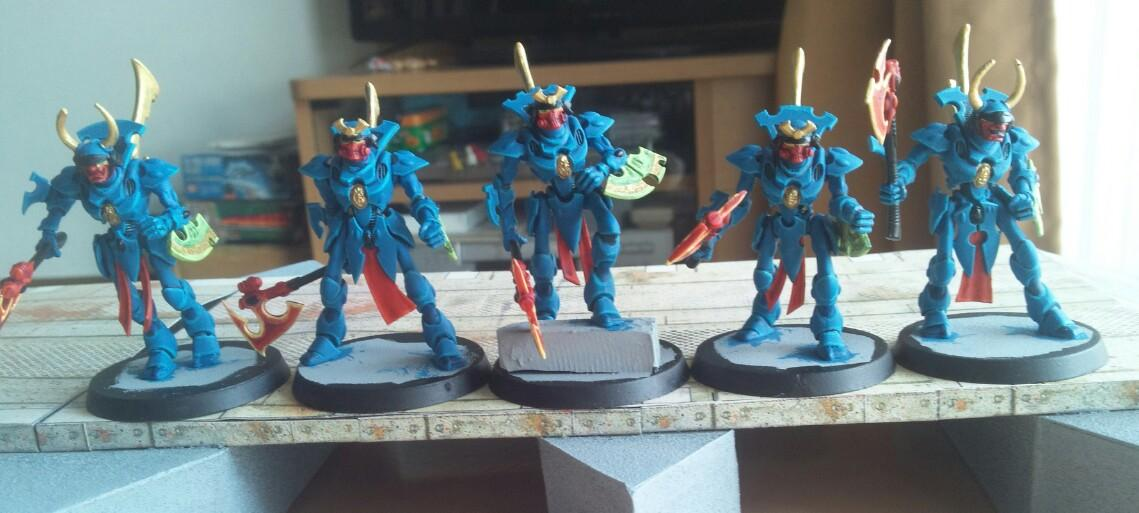 Conversion, Eldar, Puppet Wars, Warhammer 40,000, Wraithguard