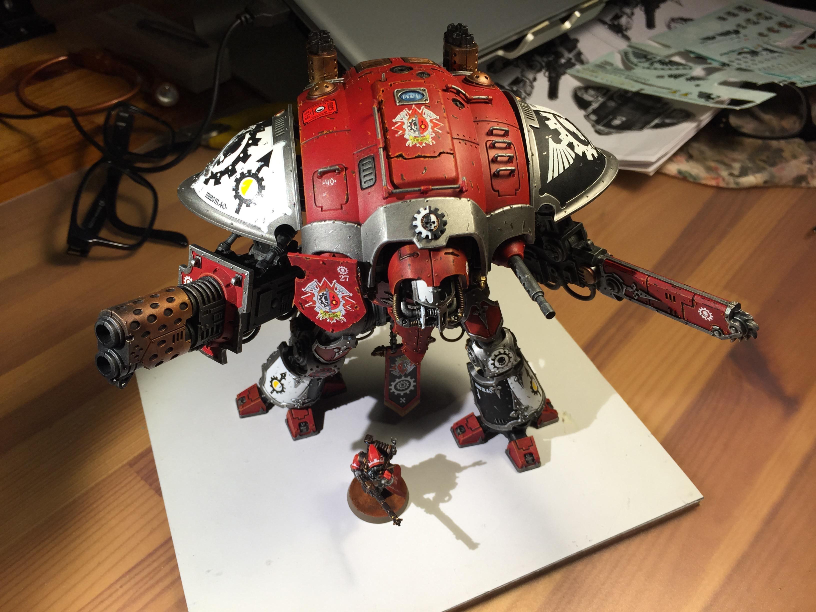 Adeptus Mechanicus, Imperial Knight, Riccardo Margarolo, Skytarii, Tanaris