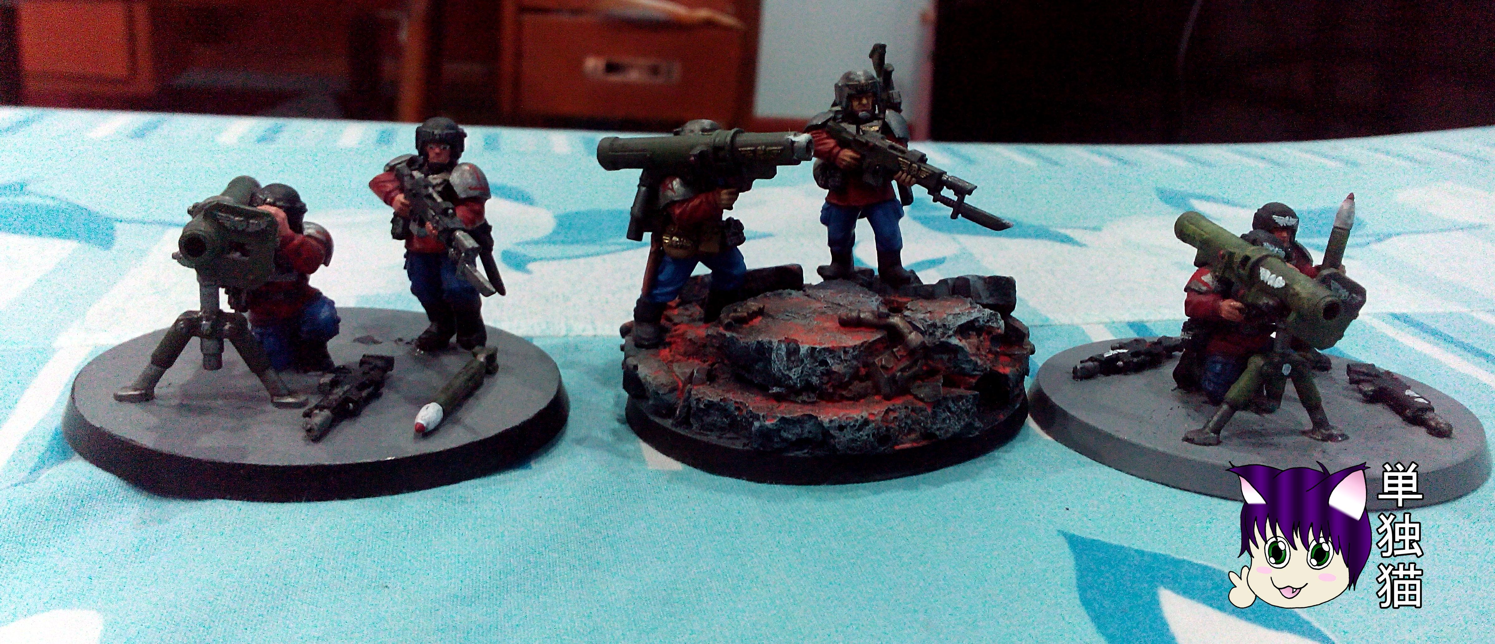 Bazooka, Heavyweapons, Imperial Guard, Missile Launcher
