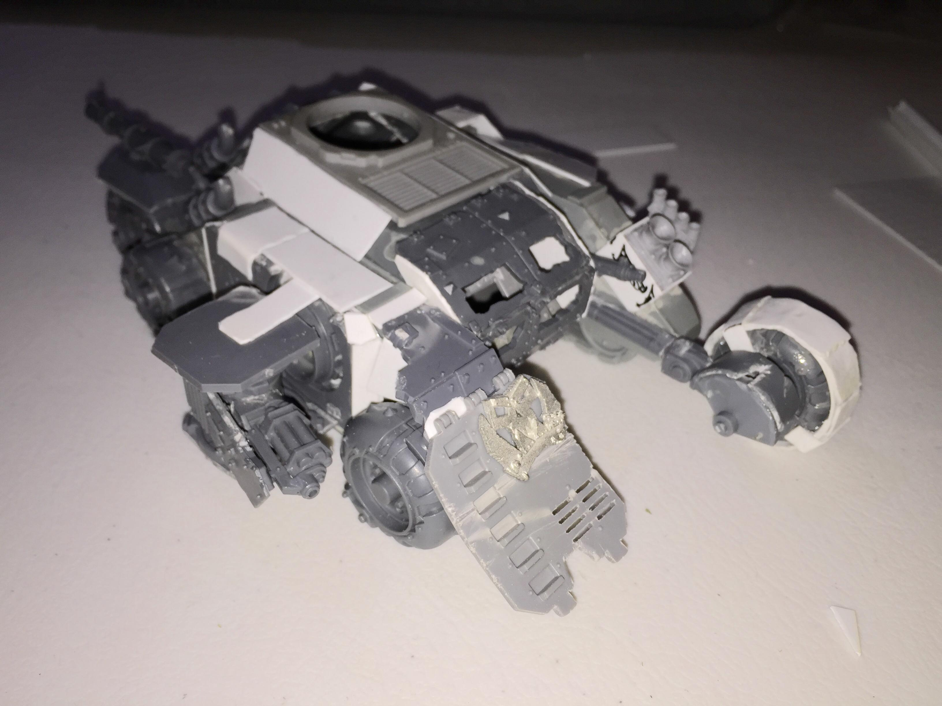 With the Turret off
