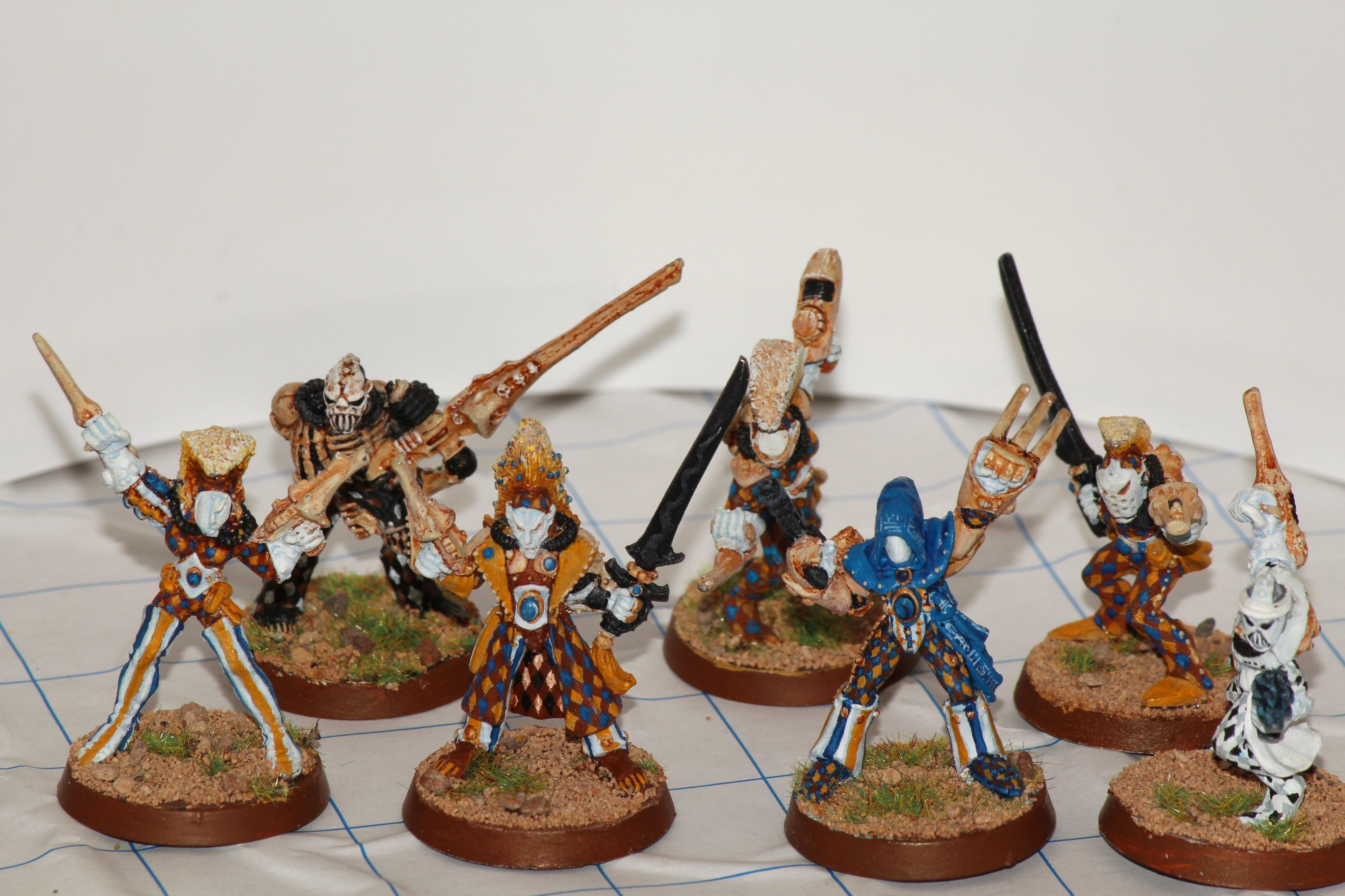 2nd Edition, Eldar, Harlequins, Warhammer 40,000