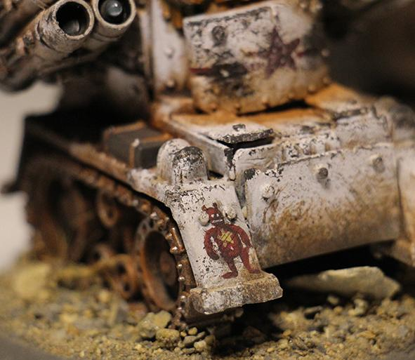 Orks, Soviet, Weathered, White