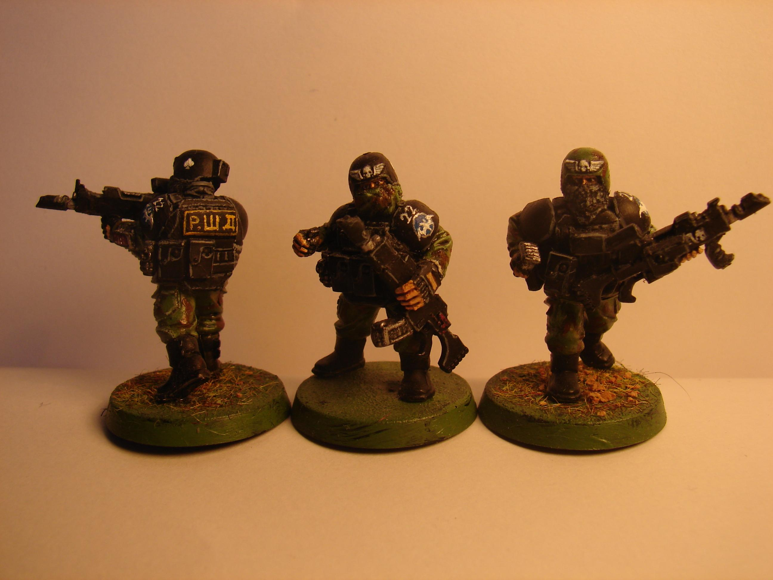 Astra Militarum, Cadians, Conversion, Imperial Guard, Soviet, Special Forces