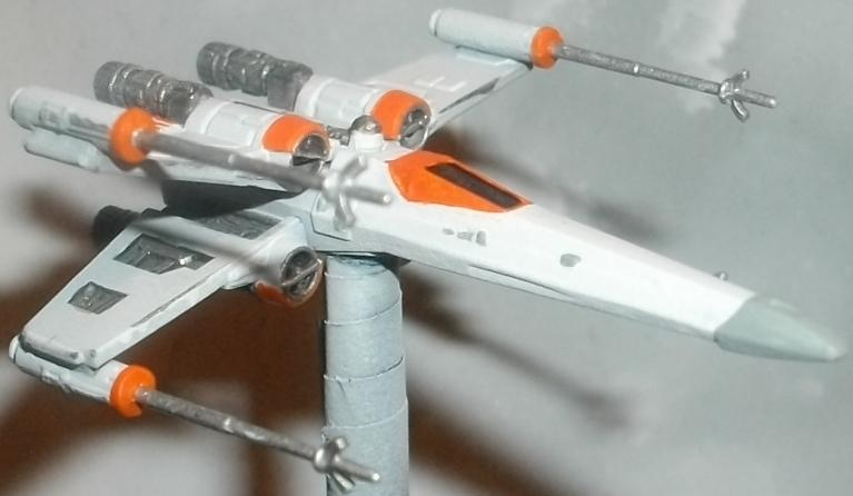 Ffg, Magnet, Mod, Modification, Repaint, Star Wars, X-Wing
