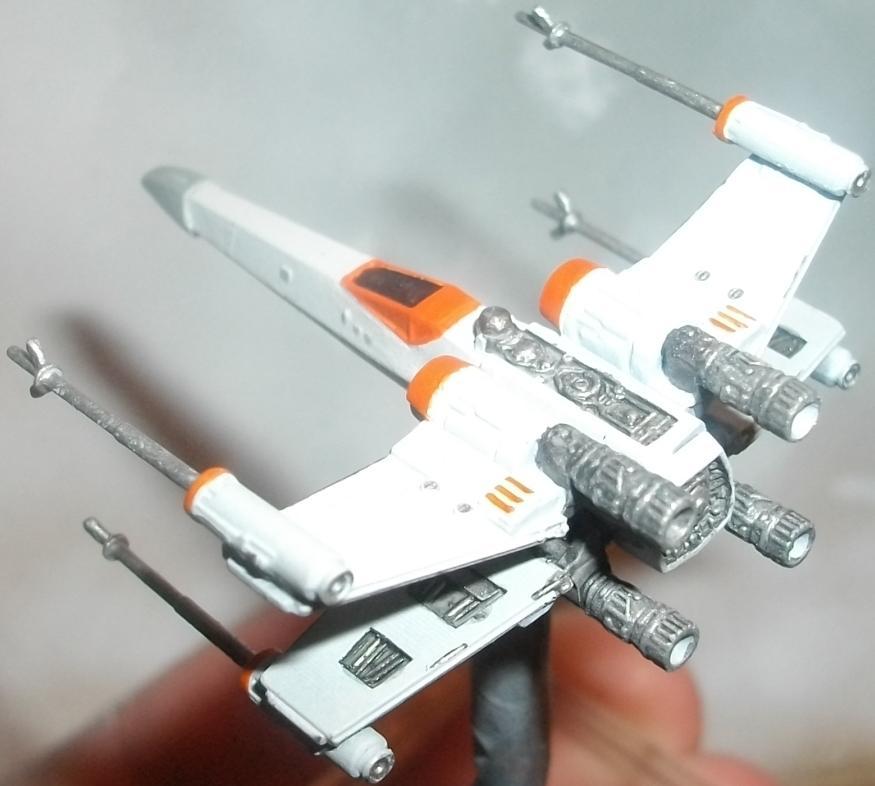 Ffg, Magnet, Mod, Modification, Repaint, Star Wars, X-Wing