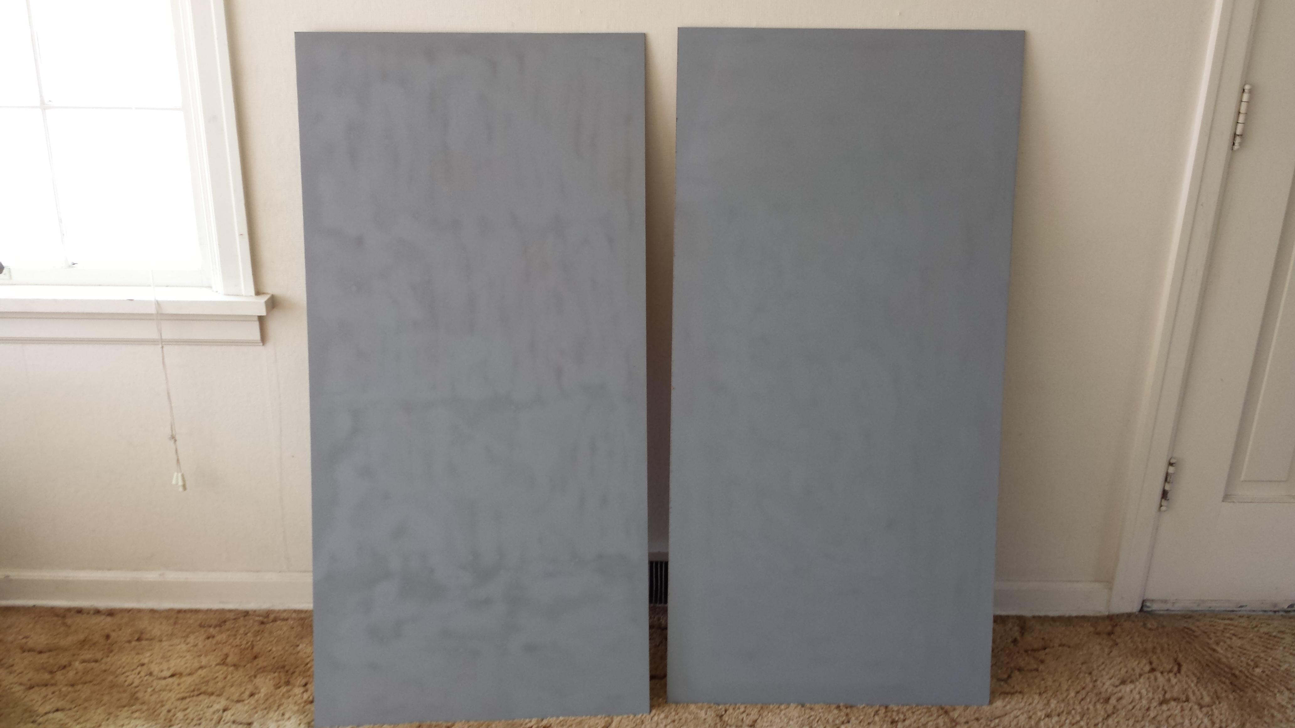 Both Boards Primed