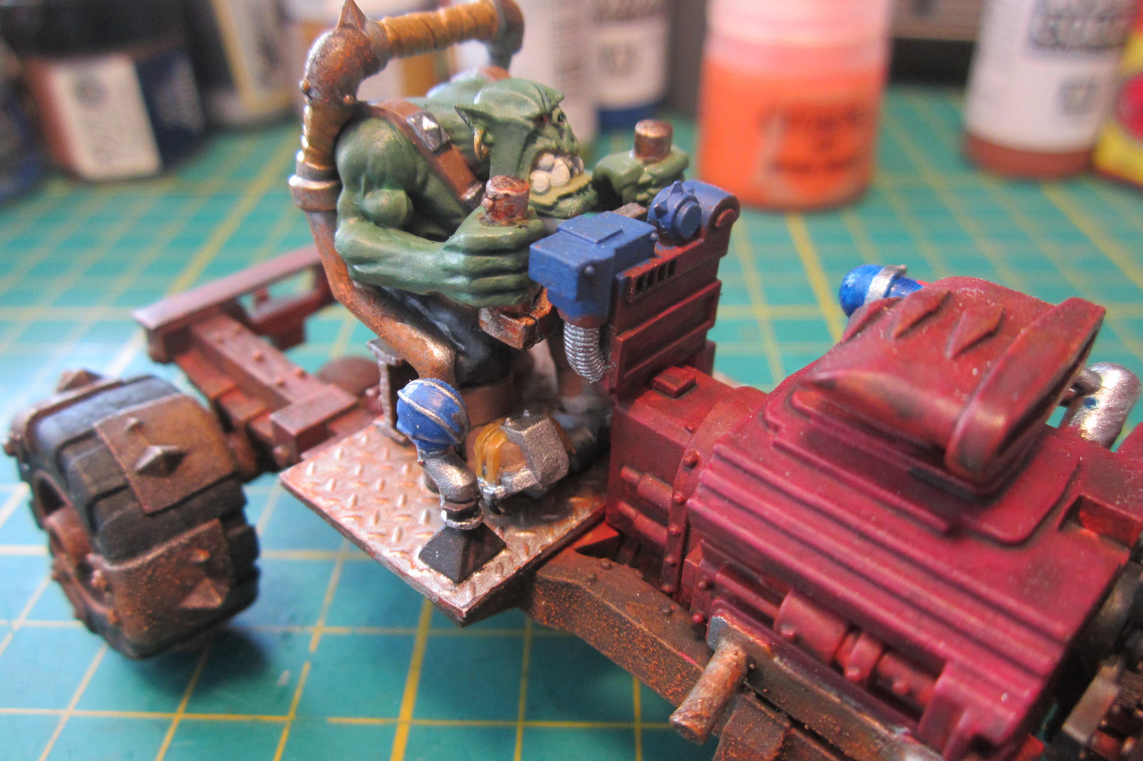 Cars, Conversion, Gorkamorka, Ork Buggies, Ork Buggy, Orks, Warhammer 40,000