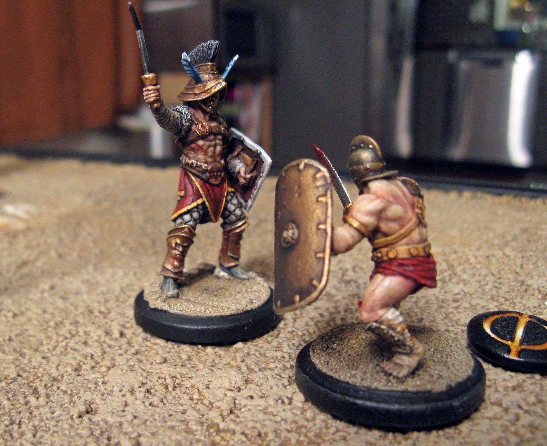 Arena Rex, Duel, Gladiators, Hermes, Red Republic, Rrg, Urbicus