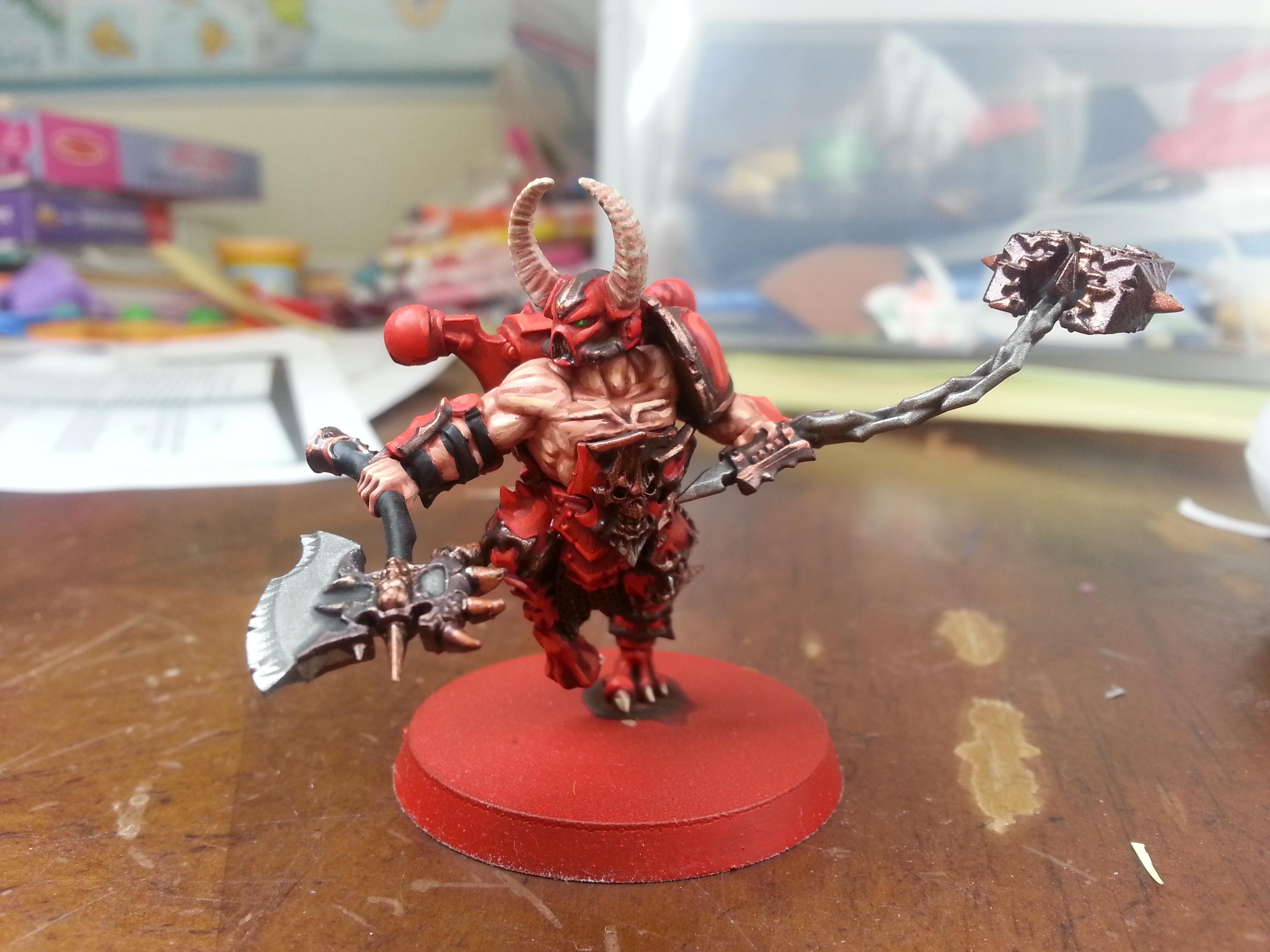 World Eaters Red Butcher / chaos spawn