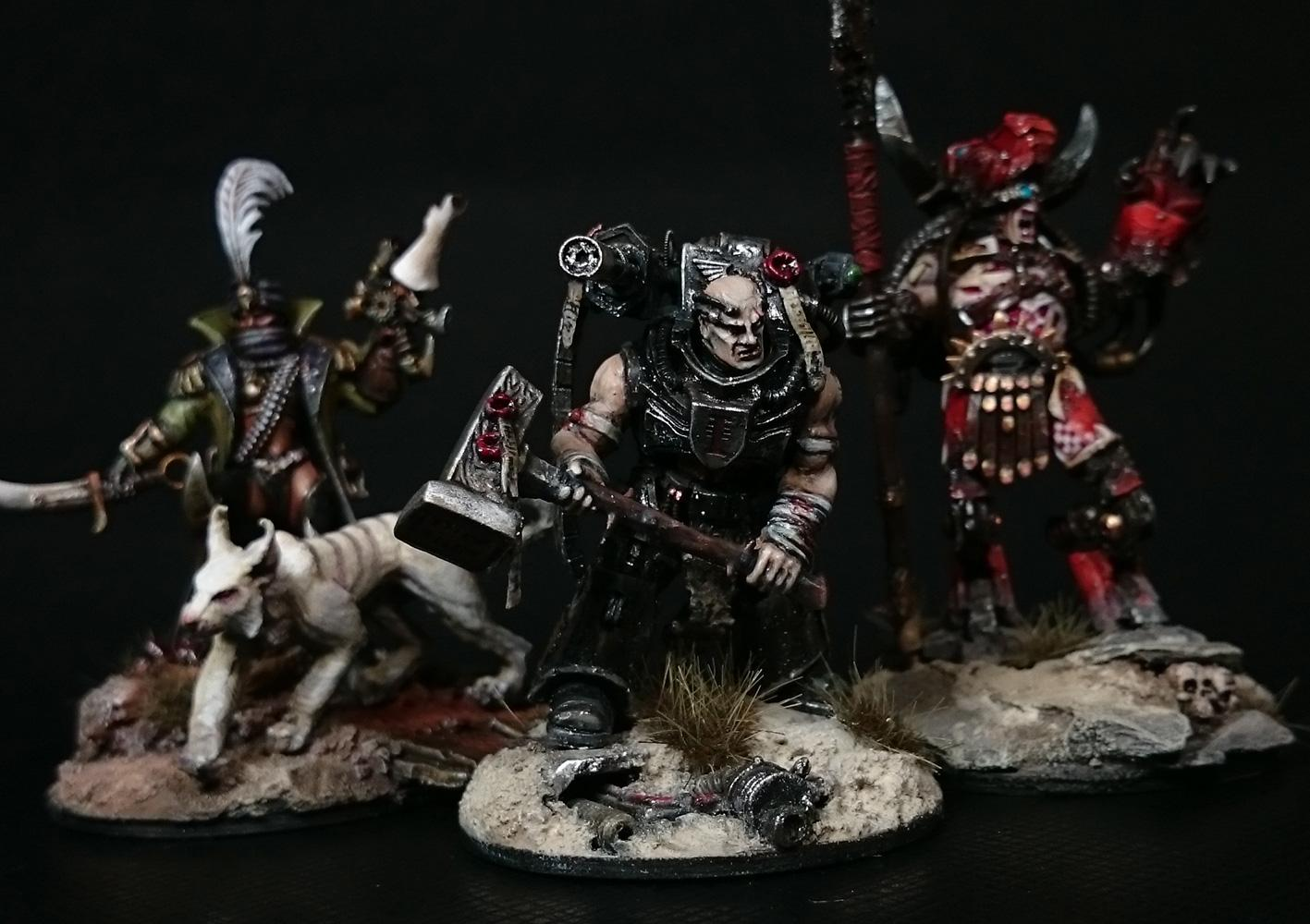 Inq28, Inquisitor, Retinue, Rogue Trader, Skitarii, Warband