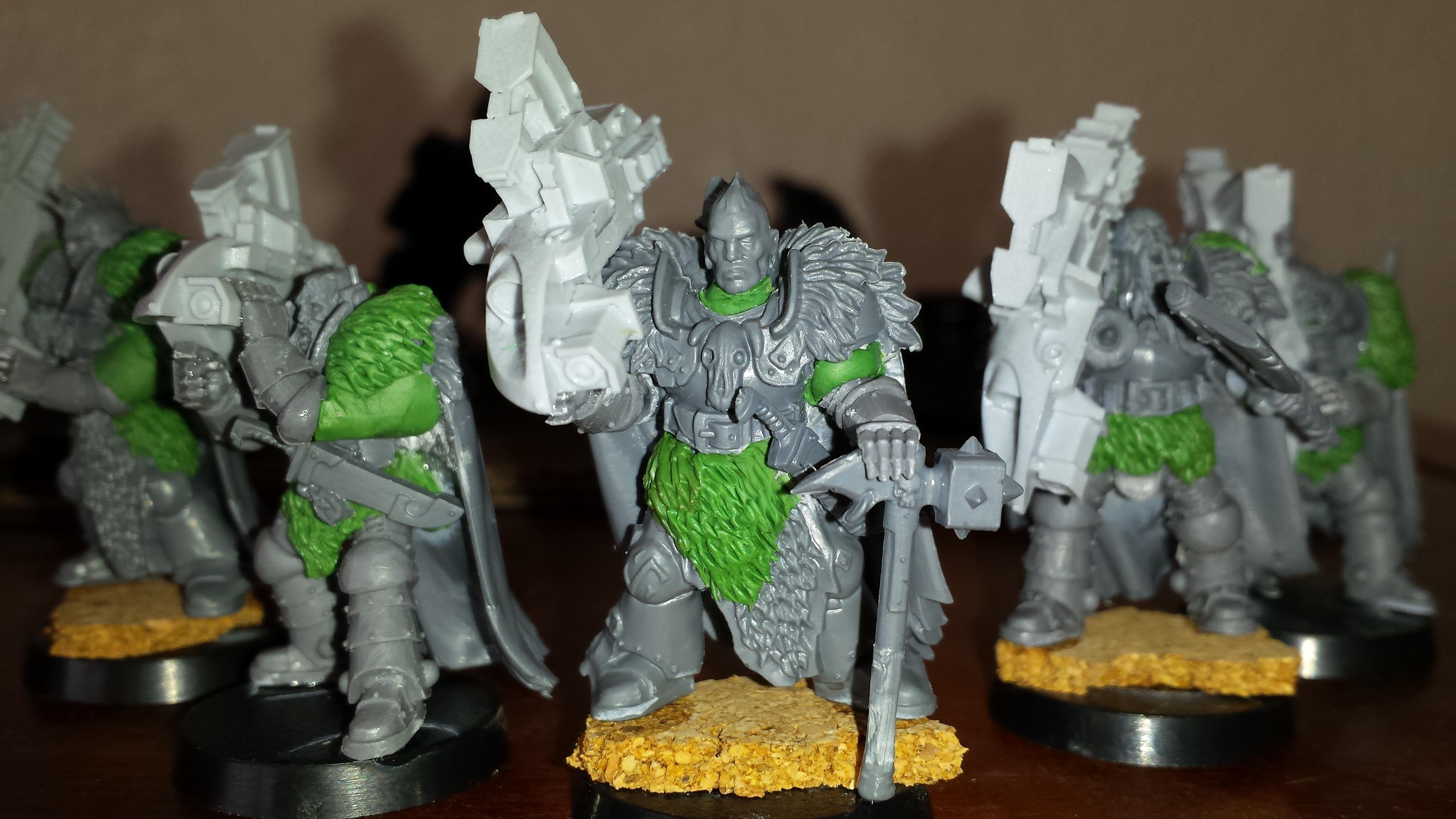 30k, Pre Heresy, Space Wolves, Warhammer Fantasy