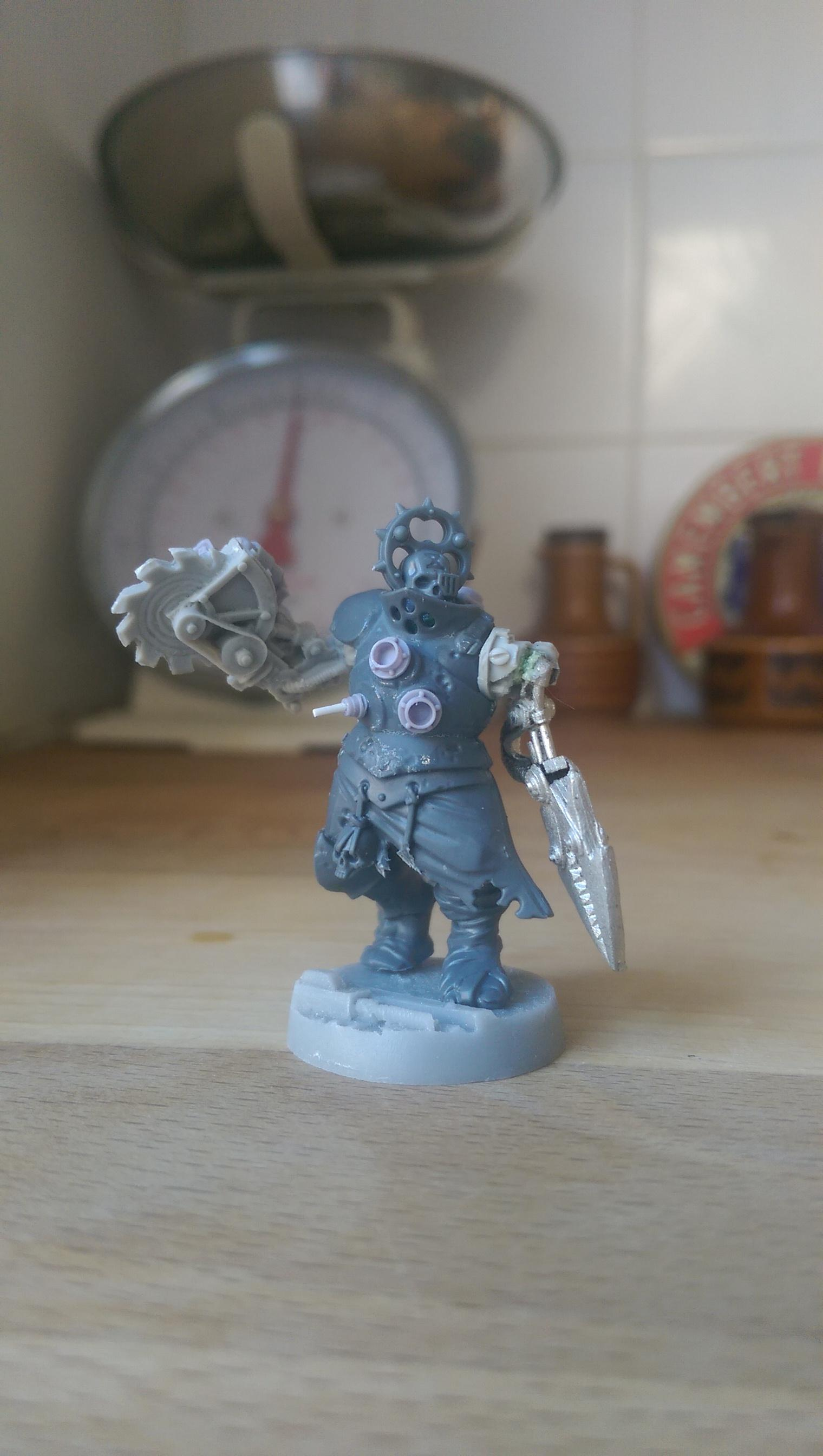 Adeptus Mechanicus, Cyborg, Pit Slave, Servitors