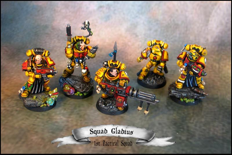 3rd Company, Conversion, Imperial Fists, Tactical Squad