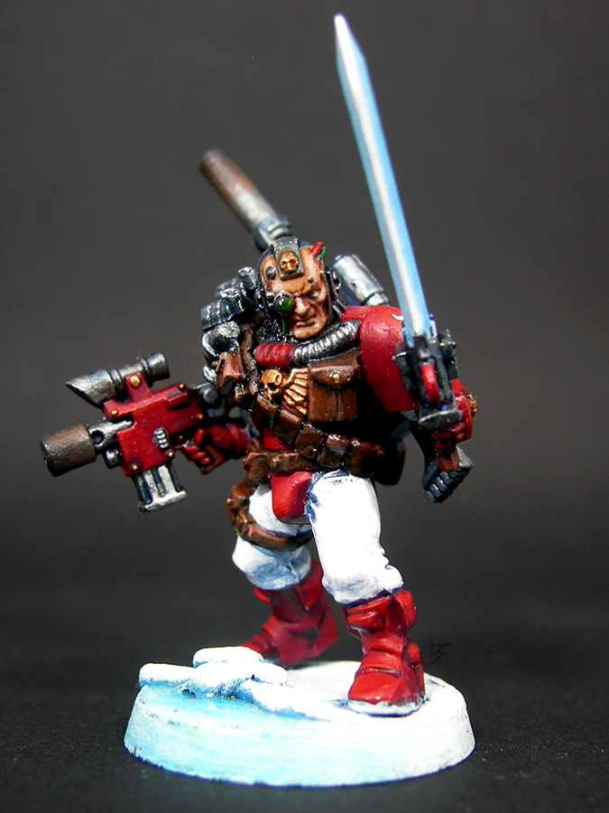 Pre-heresy, Scout Master, Scouts, Thousand Sons