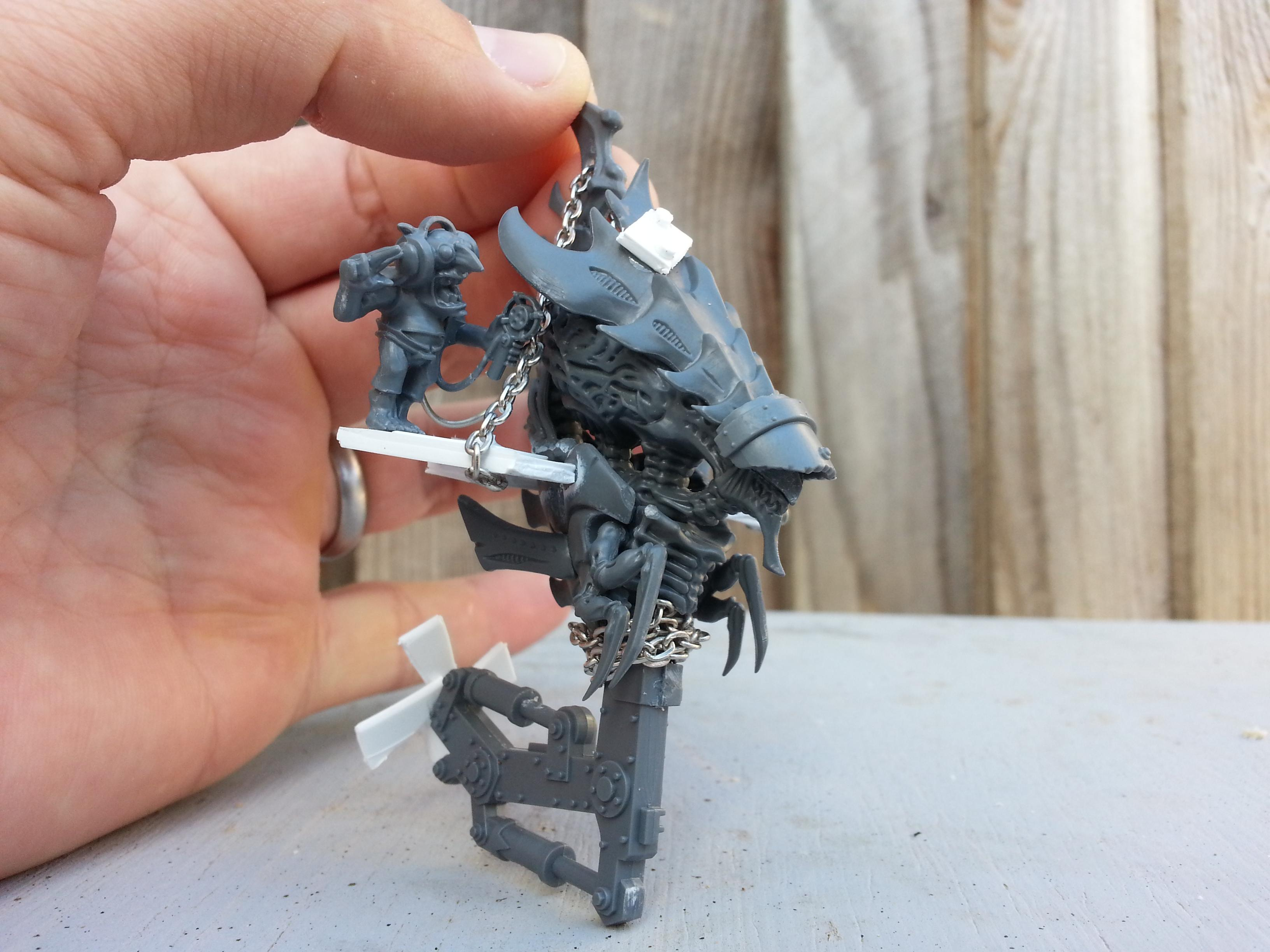 Looted, Orks, Tyranids, Zoanthrope