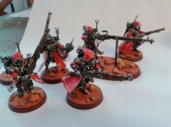 Adeptus Mechanicus, Cult Mechanicus, Imperial, Mars, Skitarii, Warhammer 40,000