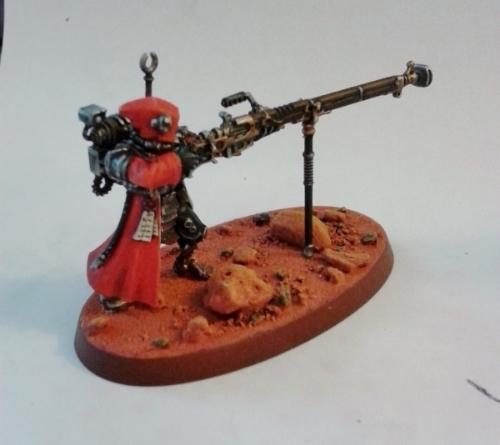 Adeptus Mechanicus, Arquebus, Cult Mechanicus, Imperial, Mars, Skitarii, Warhammer 40,000