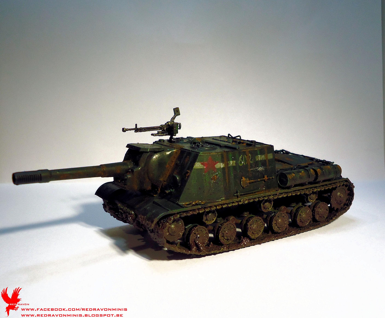Isu 152, Mud, Russians, Rust, Tank, Weathered, World War 2