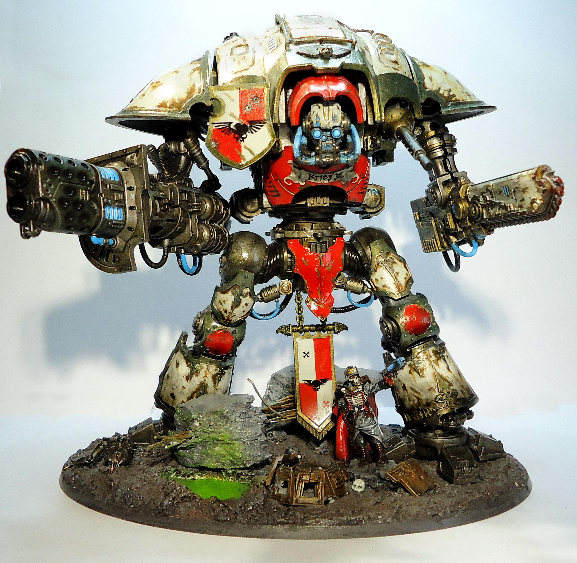 Death Korps of Krieg, Diorama, Ik, Imperial Knight, Warhammer 40,000