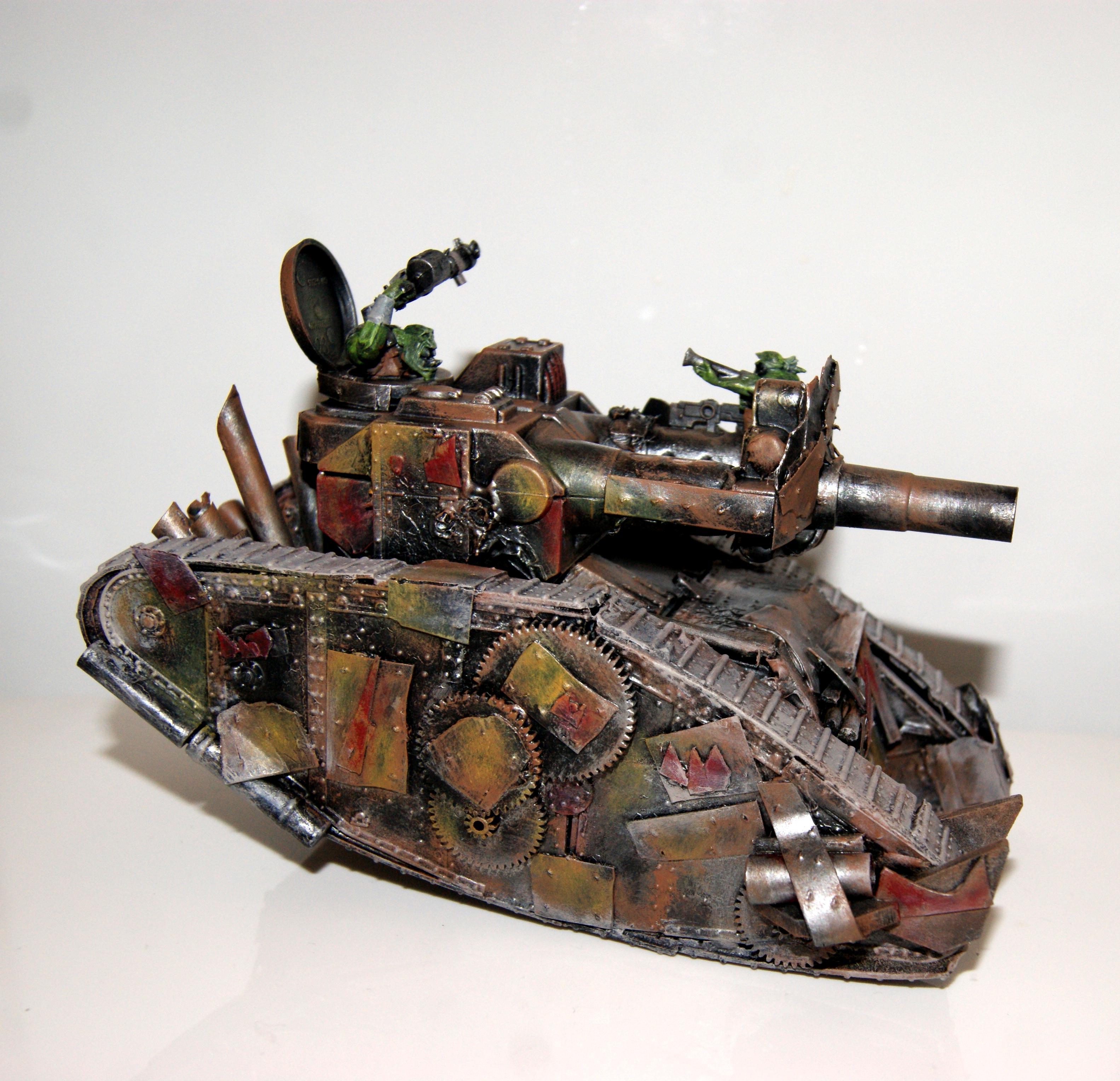 Conversion, Kill Krusha, Kill Tank, Looted, Orks, Scratchbuild. Scratch Built, Tank, Warhammer 40,000